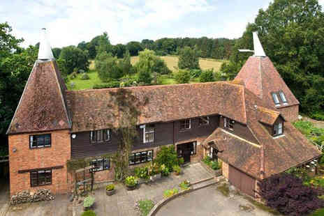 Bishopsdale Oast - Two night break for two including breakfast - Save 56%