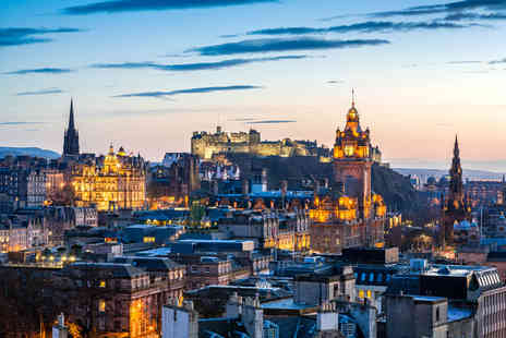 iFly Holidays - Overnight Edinburgh break including breakfast and flights - Save 25%