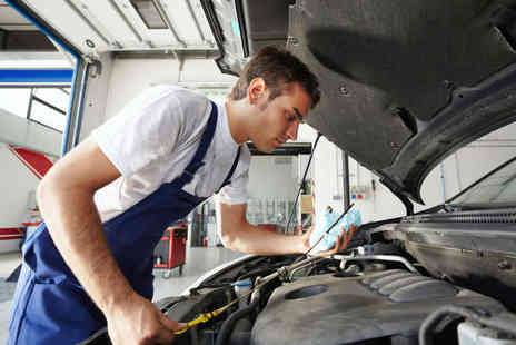 TMC Garage - MOT Test  with 54-Point Car Service and Engine Diagnostics - Save 73%