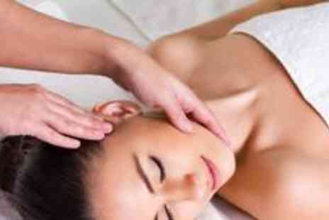 The Powder Room - Express facial, hot stone back massage, express manicure and an eyebrow shape - Save 71%