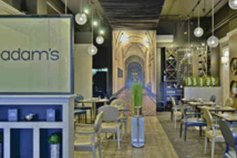 The Adams Restaurant - Five Dish Michelin Starred Dining with a Drink for Two People - Save 0%