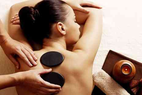Brown Cow Salon - Hot Stone Massage Plus Facial - Save 63%
