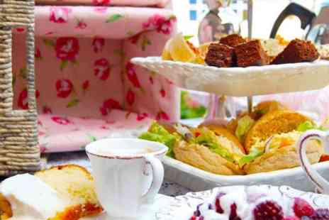 Dollys Vintage Tearoom - Festive Afternoon Tea For Two  - Save 0%