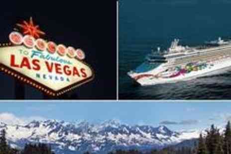 Cruise Nation - Four nights in Las Vegas in Outside Cabin with return flights and seven nights Alaska - Save 34%