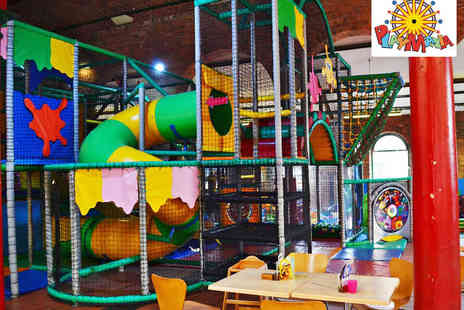 Play Mania - Play Centre Passes for One  - Save 50%