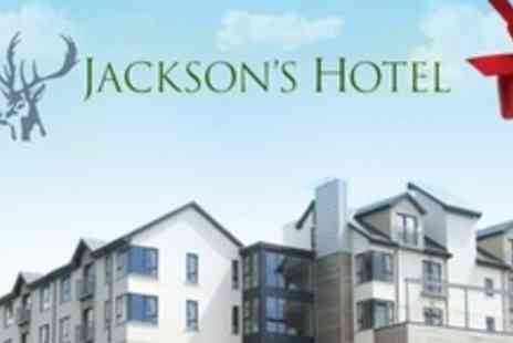 Jacksons Hotel - Two Night Stay For Two With Four Course Evening Meal, Romantic Hamper, Champagne - Save 55%