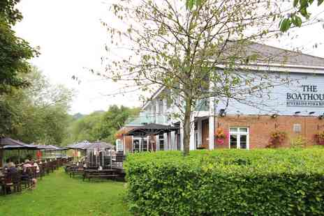 The Boathouse Riverside Pub - Overnight Riverside Pub Stay with Dinner - Save 46%