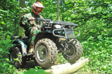 Off Limits - One Hour 4x4, Quad Bike or Segway Experience for Two - Save 50%