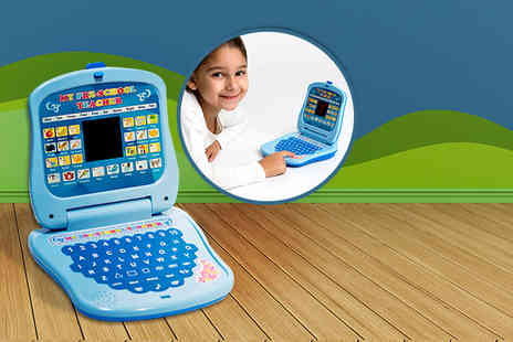 Once Upon a Company - Children's LED interactive learning laptop - Save 60%