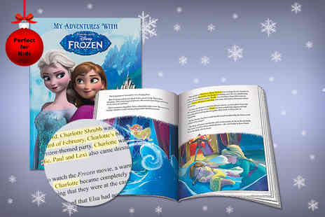 Unusual Giftz - Small personalised Frozen book - Save 52%