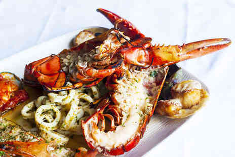 Locanda 311 - Whole lobster seafood platter & sweet dessert wine for Two - Save 50%
