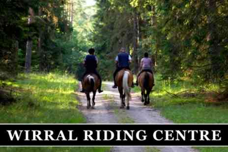 Wirral Riding Centre - Two Hours of Horse Riding - Save 63%