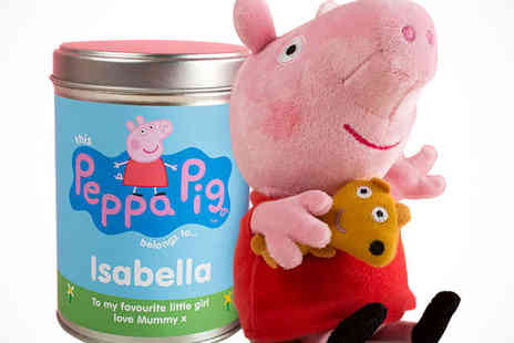 Getting Personal - Peppa Pig Plush Toy  - Save 50%