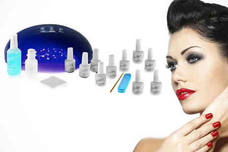 Gellure - LED Hybrid Gel Polish Starter Kit  - Save 77%