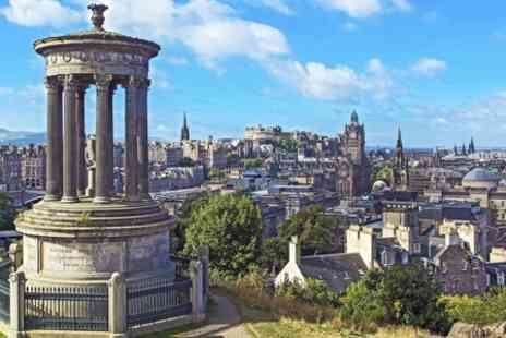 Thistle Knights Tours - 100 Minute Themed Edinburgh Tour For Two - Save 70%