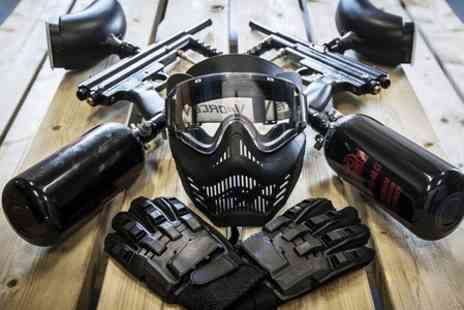 Absolutely Group - Paintball With 100 Balls - Save 50%