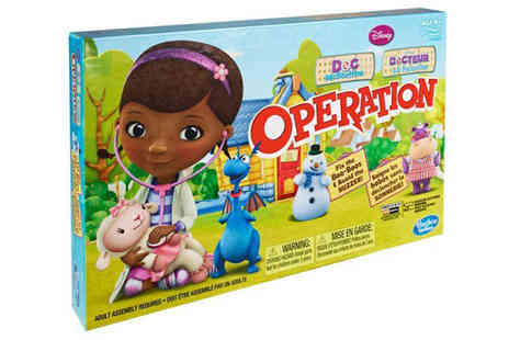 Click For Games - Doc McStuffins Operation Game - Save 36%