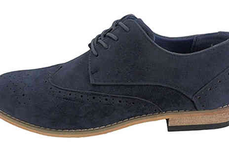 Active Human - Mens Faux Suede Shoes - Save 48%