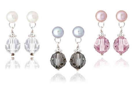 YOLO Ventures - A Choice of Pearl Stud Earrings - Save 0%