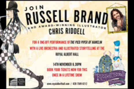 Canongate Books - Tickets to Russell Brands Trickster Tales - Save 0%