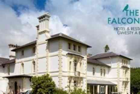 The Falcondale - One Night Stay For Two With Gourmet Seven Course Tasting Menu and Breakfast - Save 52%
