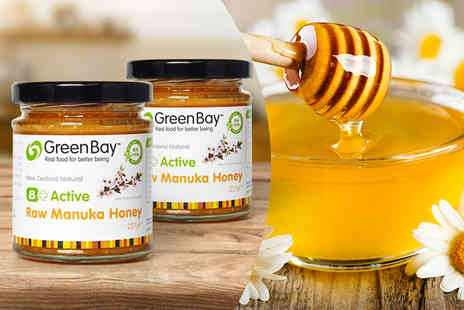 Green Bay Harvest - Eight pot Plus active raw Manuka honey - Save 47%