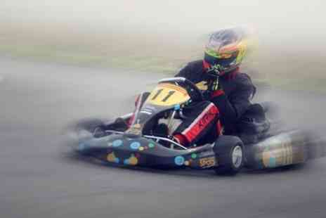 Elk Motorsport -  35 Laps Karting on 600m Outdoor Circuit - Save 58%