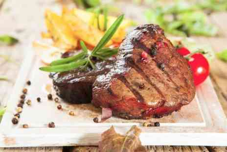 Station 22 International Steak - Two Course Steak Meal For Two - Save 61%