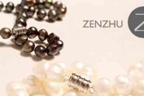 Zenzhu - Two Pearl Necklaces - Save 76%