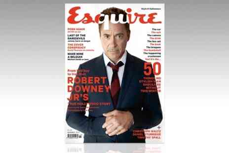 Hearst Magazines - 12 or 24 Month Esquire Magazine Subscription - Save 67%