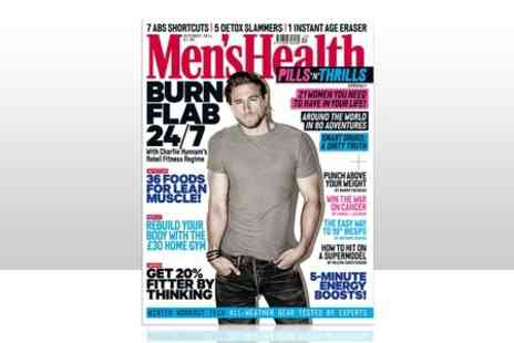 Hearst Magazines - 12 Month Subscription to Mens Health Magazine - Save 57%