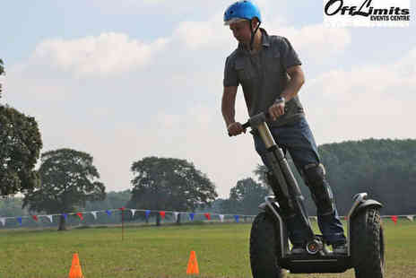 Off Limits - Segway Experience, Quad Biking, Archery or Pistol Shooting for Two  - Save 50%
