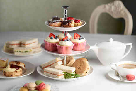 Boutique Lounge - Afternoon tea for two with two cocktails - Save 53%