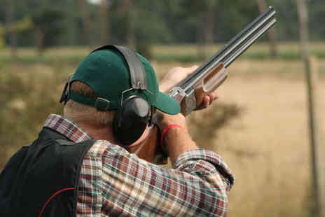 Cloudside Shooting and Sporting Club - Clay Shooting Experience with Breakfast Bap and Two Course Christmas Lunch with Mince Pies and Tea or Coffee for One - Save 73%
