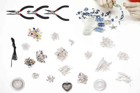 Brendee - 1000 plus Piece Jewellery Making Kit - Save 78%