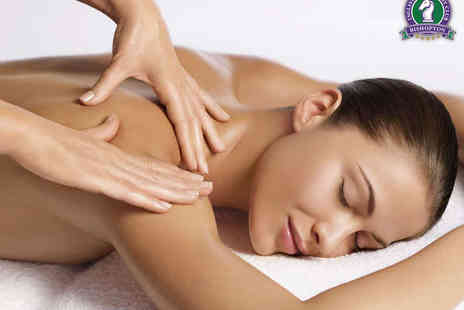 Angelic health and beauty - Back, Neck, and Shoulder Massage, Gatineau Radiance Facial, and Cake with Tea or Coffee for One - Save 51%