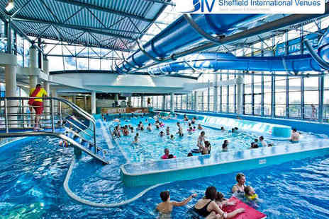 Sheffield International Venues - One Family Swimming Session for Two Adults and Up to Three Children - Save 53%