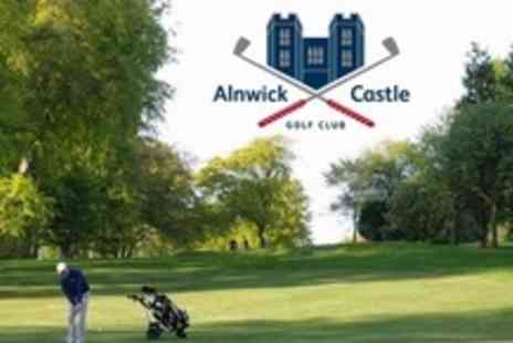 Alnwick Castle Golf Club - One Year Castle Membership Including Two Rounds of Golf For Two - Save 73%
