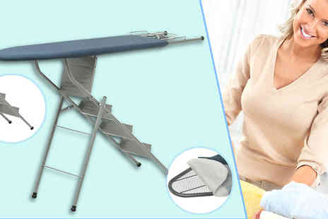 Nine Stars Gb - I-Lad Ample Ironing Board Ladder Bundle - Save 68%
