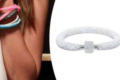 Diamond Style - Stardust Bracelet with Clear Ice Crystals - Save 0%