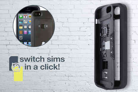 Unusual Giftz - Dual Sim Case for iPhone 5/5s  - Save 50%