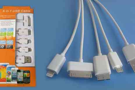 Huahai international Development - 4 in 1 USB Cable - Save 46%