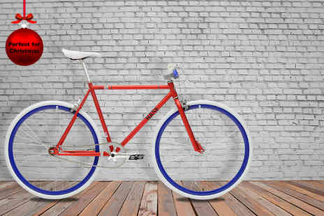JAZZCO 1967 - Multi coloured fixed gear Base bike in a choice of 3 sizes and 10 colours - Save 33%
