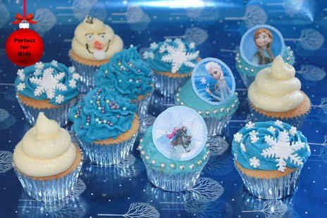 The Cocoa Box - Two hour Frozen inspired cupcake decorating class for one - Save 60%