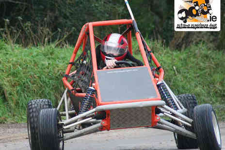 Outdoors & Dirty - Rage Buggy Racing, Powerturn Dragster Obstacle Course, and Clay Pigeon Shooting Experience for One - Save 51%