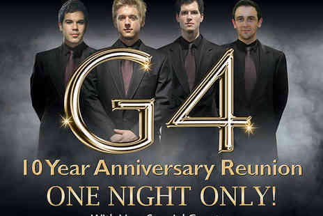 Barbican Centre - Two Circle Tickets to G4 One Night Only Reunion  - Save 41%