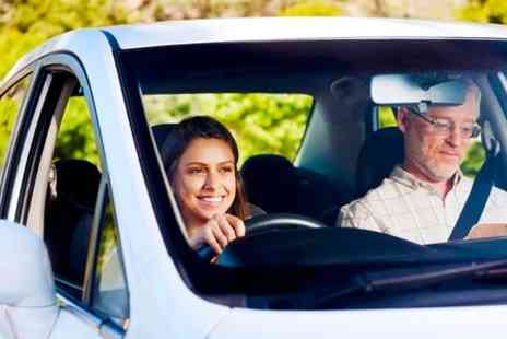 In the Right Lane - Four One Hour Driving Lessons  - Save 86%