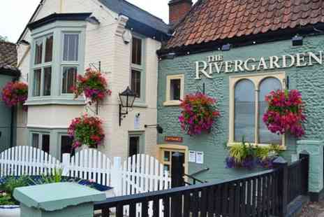The River Garden - £40 Worth of British Cuisine and Drinks  - Save 50%