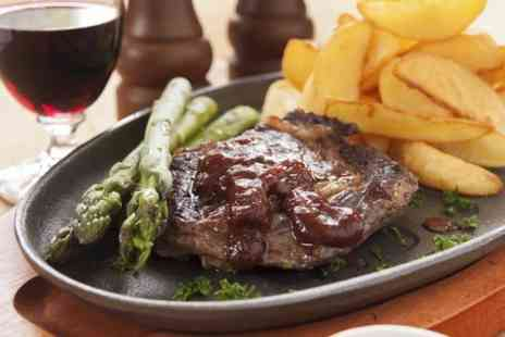 Pelican Cafe - Steak With Wine For Two - Save 54%