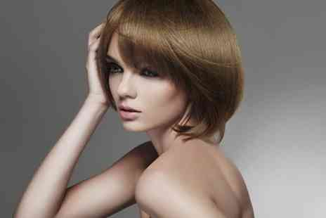 The Salon  - Cut or Restyle with Redken Conditioning Treatment Plus Brazilian blow dry  - Save 63%